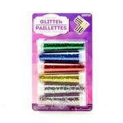 Horizon Group USA Basic Colour Glitter Shakers, 6/Pack (63661)