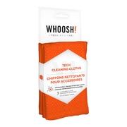 Whoosh – Chiffons antimicrobiens de format Pro, grands, 14 po x 14 po, lavables, paq./3