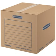 "Bankers Box SmoothMove Basic Moving Boxes, Medium, 18"" x 18"" x 16"", 10/Pack (7713902)"