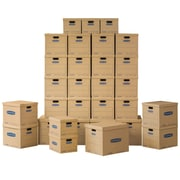 Bankers Box SmoothMove Classic Moving Kit, Assorted Boxes, 30/Pack (7716501)