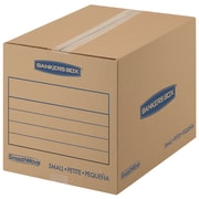 "Bankers Box SmoothMove Basic Moving Boxes, Small, 16"" x 12"" x 12"", 15/Pack (7713802)"