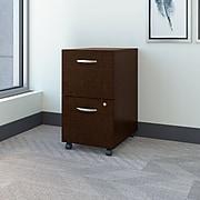 Bush Business Furniture Westfield 2 Drawer Mobile File Cabinet, Mocha Cherry (WC12952)