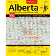 MapArt Alberta Back Road Atlas