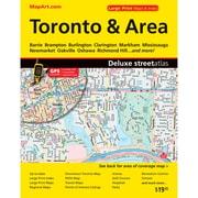 MapArt Toronto & Greater Toronto Area Atlas