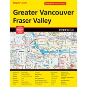 MapArt Vancouver Street Guide