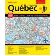 MapArt Quebec Road Atlas (10446)
