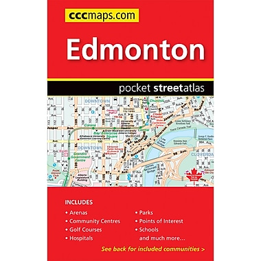 MapArt Edmonton Pocket Guide