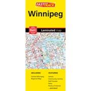 MapArt Winnipeg Laminated Map