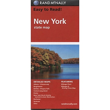 MapArt New York State Map