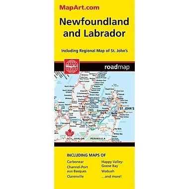 MapArt Newfoundland Map