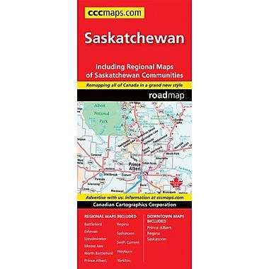 MapArt Saskatchewan Map