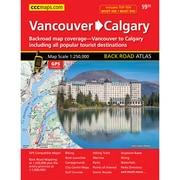 MapArt Vancouver To Calgary Road Trip Atlas