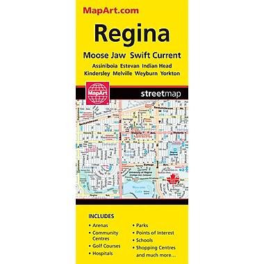 MapArt Regina Folding Map