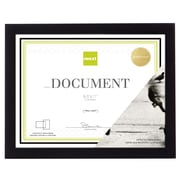 "Kiera Grace Gallery Wood Document Frame, 8.5 x 11"", Black (PN01399-7)"