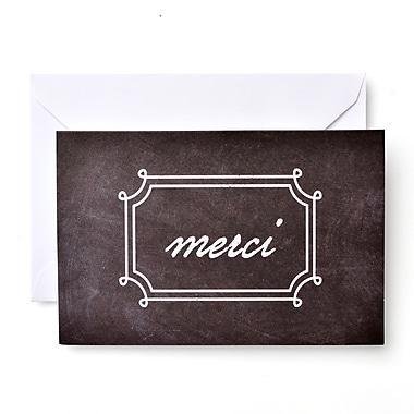 Gartner Studios Merci Chalkboard Thank You Cards With Envelopes 10