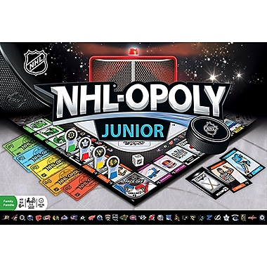Masterpieces NHL-Opoly Jr. Board Game (MPC41646)