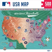 Masterpieces MLB Sports Map Puzzle (MPC11588)