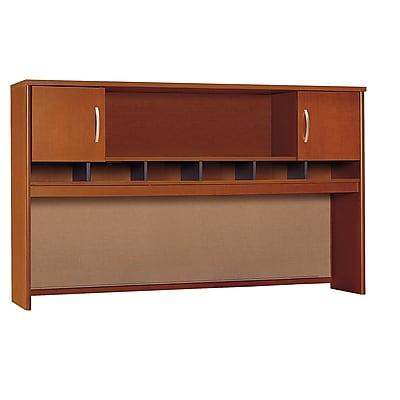 Bush Business Furniture Westfield 72W 2 Door Hutch, Auburn Maple, Installed (WC48566KFA)