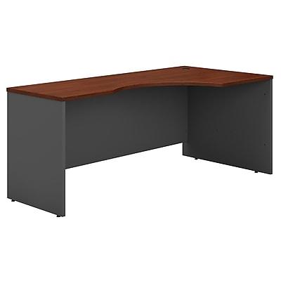 Bush Business Furniture Westfield 72W Right Handed Corner Desk, Hansen Cherry (WC24423)