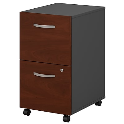 Bush Business Furniture Westfield 2 Drawer Mobile File Cabinet, Hansen Cherry (WC24452)