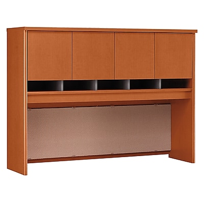 Bush Business Furniture Westfield 60W Hutch, Auburn Maple, Installed (WC48562KFA)