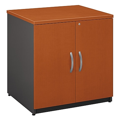 Bush Business Furniture Westfield 30W Storage Cabinet, Auburn Maple (WC48596A)