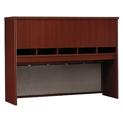 Bush Business Furniture Westfield 60W Hutch, Mahogany (WC36762K)