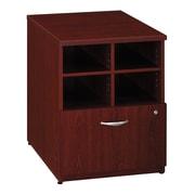 "Bush Business Furniture Westfield 24""W Storage Cabinet, Mahogany (WC36704)"