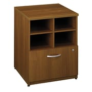 "Bush Business Furniture Westfield 24""W Storage Cabinet, Warm Oak (WC67504)"