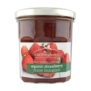 Earth's Choice Organic Strawberry Fruit Spread 320g, 6/Pack