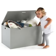 Tot Tutors 76742 Inspire Toy Box, Grey & White