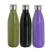 Tundra Stainless Steel Double Wall Bottle, Assorted Colours, 500ML