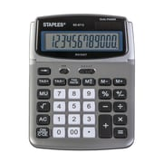 Staples BD-6712 12-Digit Adjustable Tilt-Display Desktop Calculator