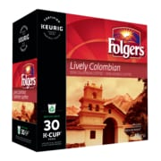 Folgers Lively Colombian K-Cup, 30/Pack