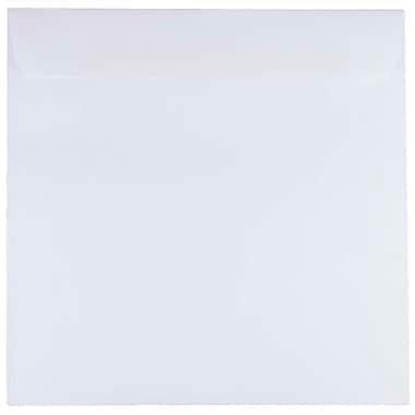 JAM PaperMD – Enveloppes carrées standard avec fermeture gommée, 8 1/2 x 8 1/2 po, blanc, 1000/pqt
