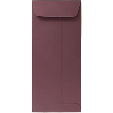 JAM Paper® #10 Policy Envelopes, 4 1/8 x 9.5, Burgundy, 100/Pack (36396161g)