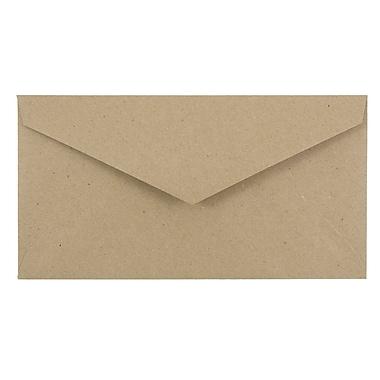 JAM PaperMD – Enveloppes format livret en papier recyclé avec fermeture gommée, 3 7/8 x 7 1/2 po, brun kraft, 1000/paquet
