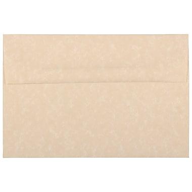 JAM PaperMD – Enveloppes en papier parchemin recyclé avec fermeture gommée, 5 1/2 x 8 1/8 po, brun, 1000/paquet