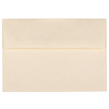 JAM Paper® A7 Invitation Envelopes, 5.25 x 7.25, Parchment Natural Recycled, 1000/Pack (35394B)