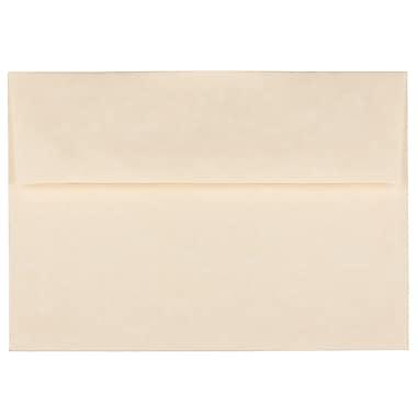 JAM PaperMD – Enveloppes A7 en papier recyclé, papier parchemin naturel, 250/paquet