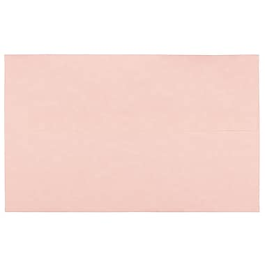 JAM Paper® A10 Invitation Envelopes, 6 x 9.5, Parchment Pink Recycled, 1000/Pack (97859B)