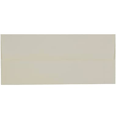 JAM Paper #10 Business Envelopes, 4 1/8 x 9.5, Strathmore Natural White Laid, 100/Pack (70746g)