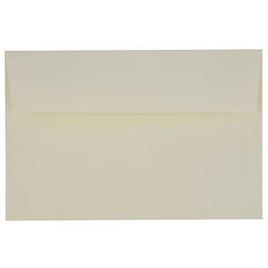 JAM PaperMD – Enveloppes livret Strathmore en papier vélin avec fermeture gommée, 5 3/4 x 8 3/4 po, blanc naturel, 1000/pqt
