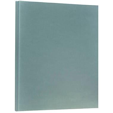 JAM Paper® Translucent Vellum Cardstock, 8.5 x 11, 43lb Ocean Blue, 250/ream (301797B)