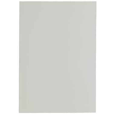 JAM Paper® Blank Foldover Cards, 4bar / A1 size, 3.5 x 4.88, White Linen Panel, 100/Pack (309899)