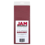 JAM Paper Tissue Paper, Burgundy, 10 packs of 10 (1155680g)