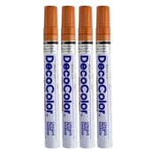 JAM Paper® Bold Paint Marker, Copper, 4/Pack (6524961g)