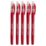 JAM Paper® Gel Pen, 0.7mm, Red, 5/Pack (6534968g)