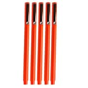 JAM Paper® Le Pen, Orange, 5/Pack (7655879g)