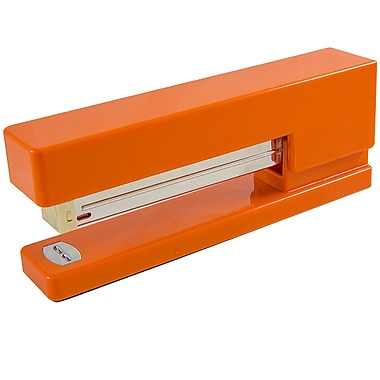 office orange. JAM Paper® Modern Desk Stapler, Orange Office Orange